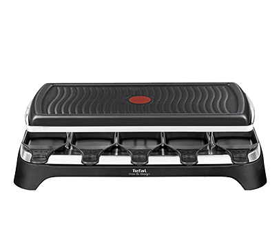 tefal raclette grill f r 10 personen re458812. Black Bedroom Furniture Sets. Home Design Ideas